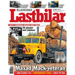 Klassiska Lastbilar nr 6 2015