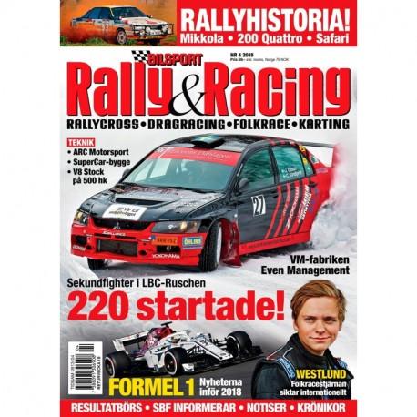 Bilsport Rally & Racing nr 4 2018