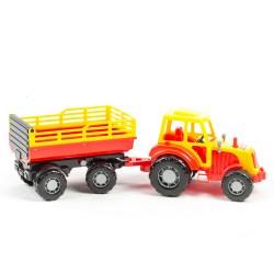 Traktor med vagn