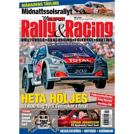Bilsport Rally & Racing nr 9 2018