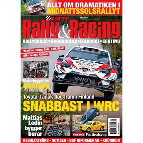 Bilsport Rally & Racing nr 6 2019