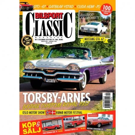 Bilsport Classic nr 12 2019