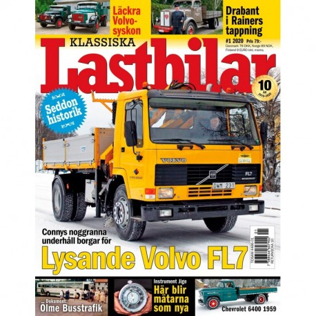 Klassiska Lastbilar nr 1 2020