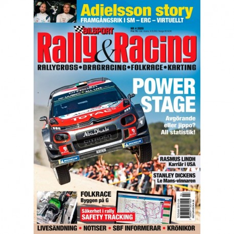 Bilsport Rally & Racing nr 4 2020