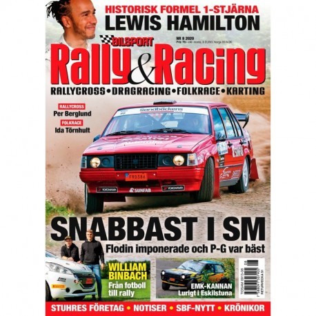 Bilsport Rally & Racing nr 8 2020