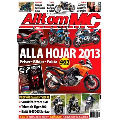 Allt om MC nr 1 2013