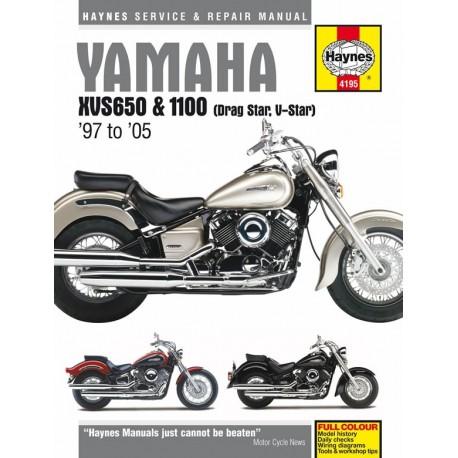 Yamaha XVS650 & 1100 Drag Star/V-Star 1997 - 2005