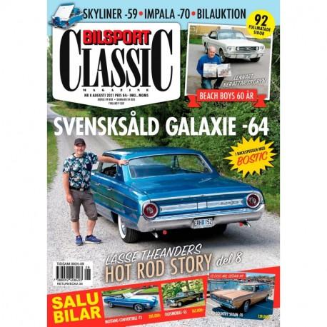 Bilsport Classic nr 8 2021