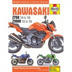 Kawasaki Z750 & Z1000 2003 - 2008
