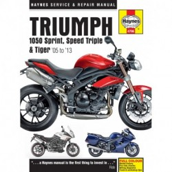 Triumph 1050 Sprint ST Speed Triple & Tiger 2005 - 2013