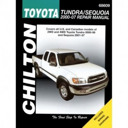 Toyota Tundra and Sequoia Chilton Repair Manual covering Tundra for 2000-06 & Sequoia for 2001-07
