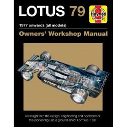 Lotus 79 Owners' Workshop Manual