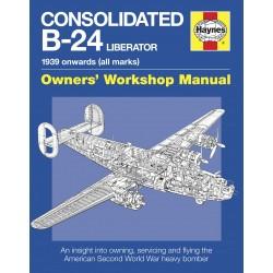 Consolidated B-24 Liberator Manual (paperback)