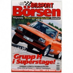 Bilsport Börsen nr 8  2004