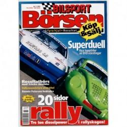Bilsport Börsen nr 11  2003