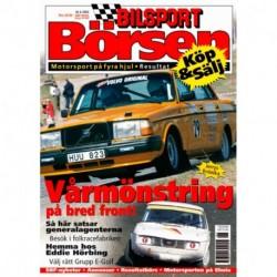 Bilsport Börsen nr 6  2003