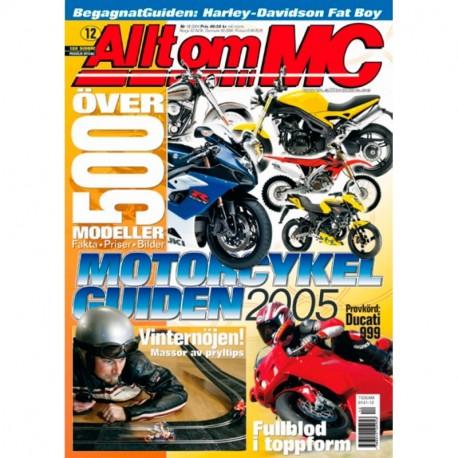 Allt om MC nr 12  2004