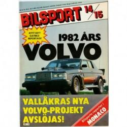Bilsport nr 14  1981