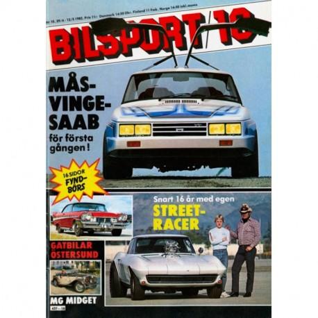Bilsport nr 10  1982