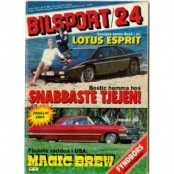 Bilsport nr 24  1983