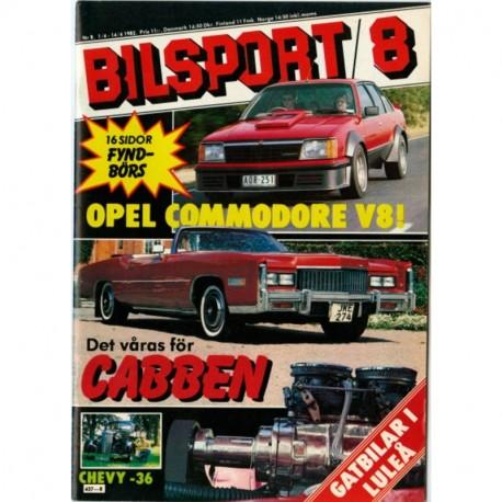 Bilsport nr 8  1982