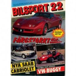 Bilsport nr 22  1983