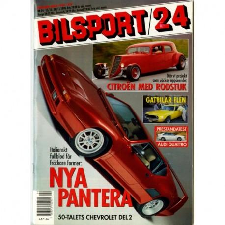 Bilsport nr 24  1990