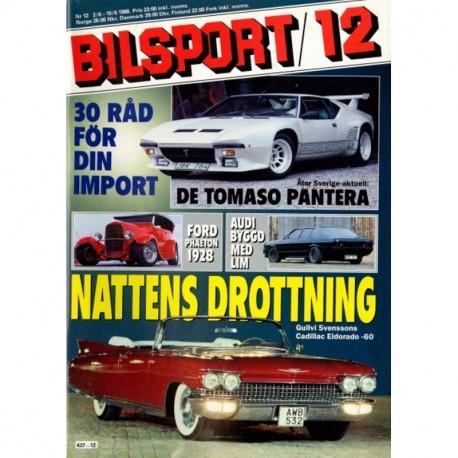 Bilsport nr 12  1988