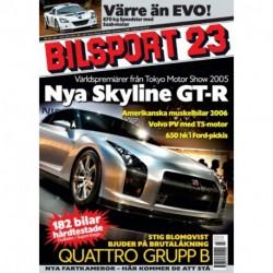 Bilsport nr 23  2005