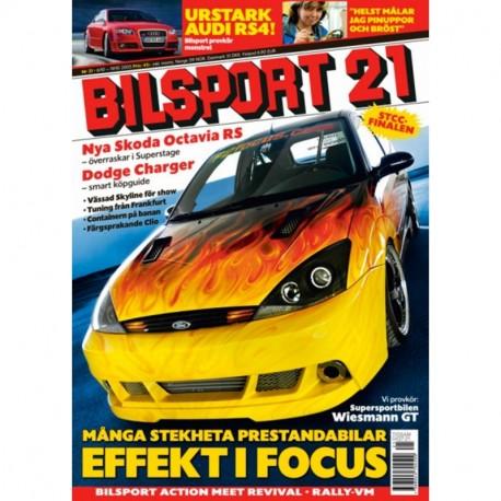 Bilsport nr 21  2005