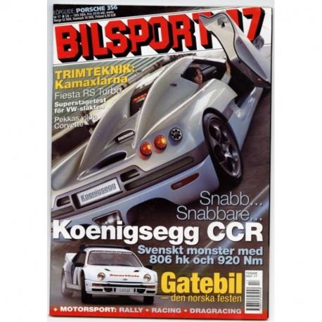 Bilsport nr 17  2004