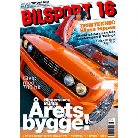 Bilsport nr 16  2004