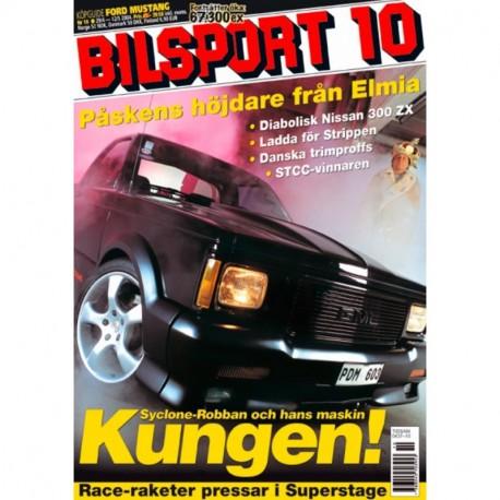 Bilsport nr 10  2004