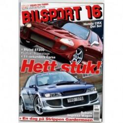 Bilsport nr 16  2003
