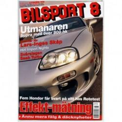 Bilsport nr 8  2003