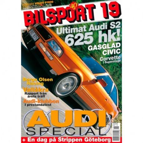 Bilsport nr 19  2002