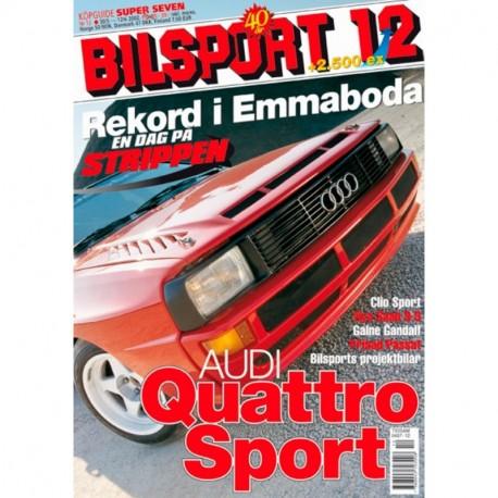 Bilsport nr 12  2002
