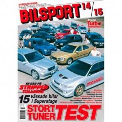 Bilsport nr 14  2001