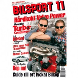 Bilsport nr 11  2001