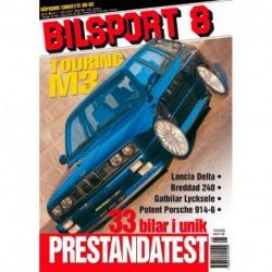 Bilsport nr 8  2001