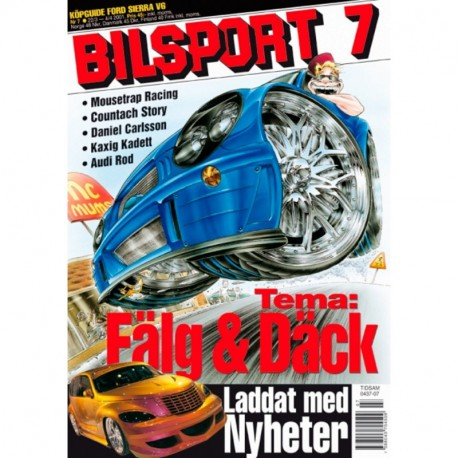 Bilsport nr 7  2001