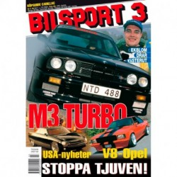 Bilsport nr 3  2001