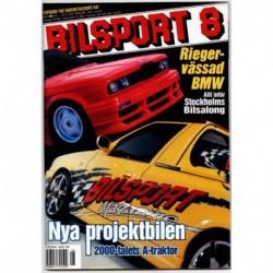 Bilsport nr 8  2000