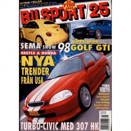 Bilsport nr 25  1998