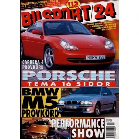 Bilsport nr 24  1998
