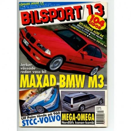 Bilsport nr 13  1996