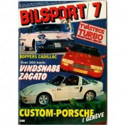Bilsport nr 7  1986