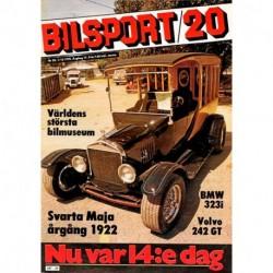 Bilsport nr 20  1978
