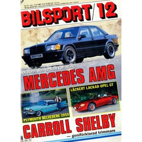 Bilsport nr 12  1987