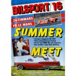 Bilsport nr 16  1987